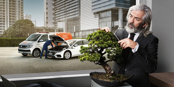 Parte 2 da campanha de serviço da Volkswagen